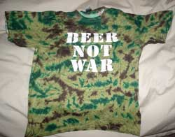 Beer not War