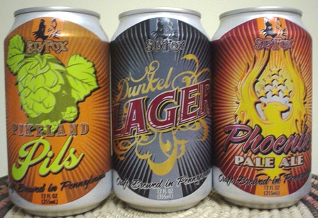 Sly Fox Cans