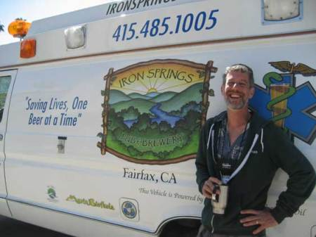 Iron Springs head brewer Mike Altman saves lives one beer at a time.