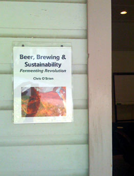 We spent Friday through Sunday thinking, drinking, and brewing beer in this classroom at Omega Institute.
