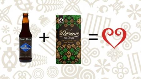 Beer + Chocolate = Divine
